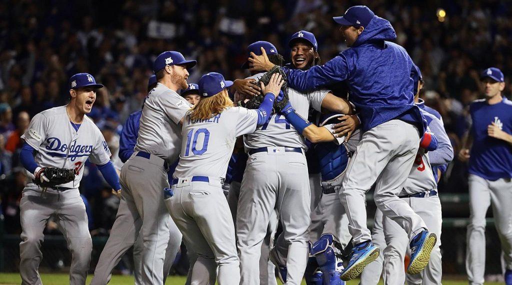 Dodgers Make Wolrd Series