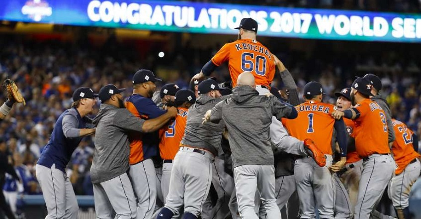 The Houston Astros' first World Series 2017 Championship