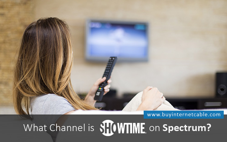 What Channel is Showtime on Spectrum