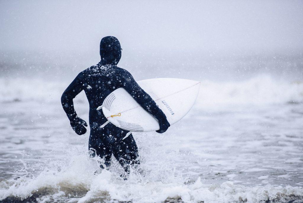 Winter Surfing Wetsuit