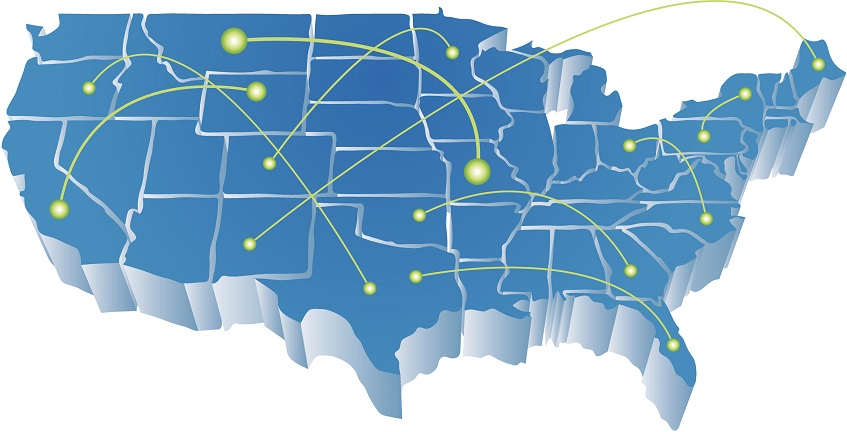 Charter Spectrum Internet Service Area Map