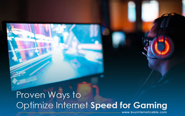 Optimize Internet Speed for Gaming