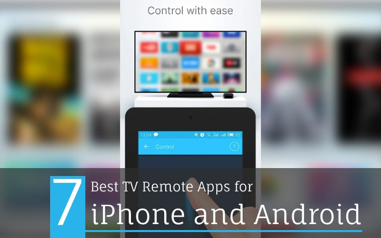 TV remote apps