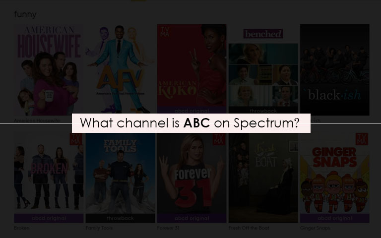 ABC on spectrum