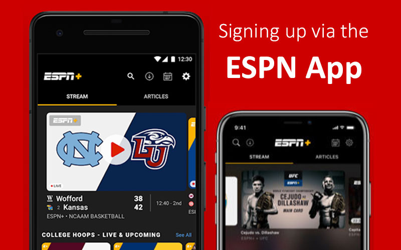 Signing-up-via-the-ESPN-App