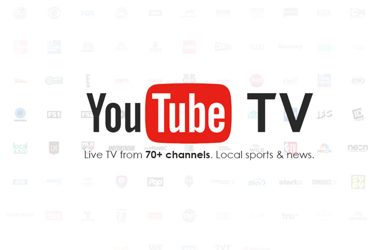 YouTube Live TV Channels List
