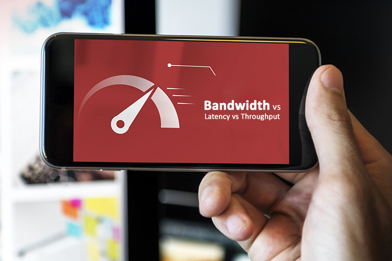 Bandwidth vs Latency vs Throughput