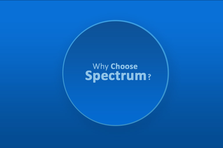 Why choose spectrum?