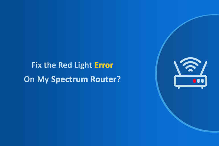 Fix the Red Light On My Spectrum Router