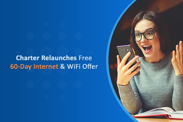 Charter relaunch free internet offer