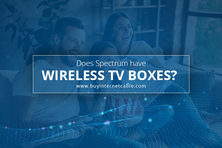 Spectrum wireless TV boxes