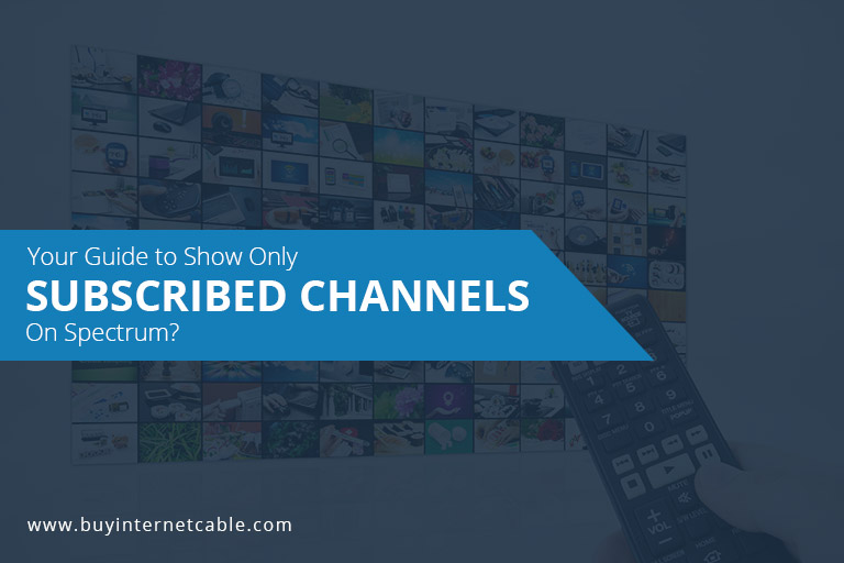 Subscribed Channels On Spectrum