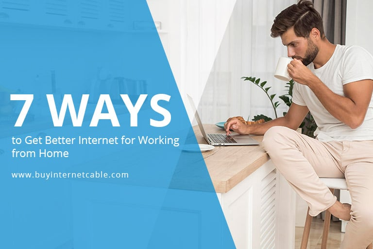 better internet speed for work from home